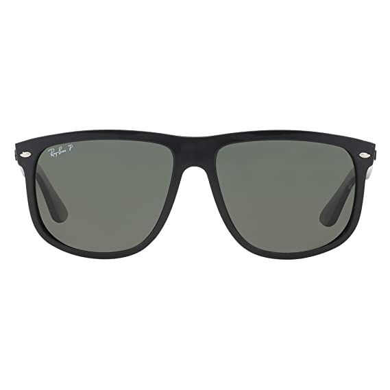 8487231ab4 Ray Ban Für Mann Rb4147 Black   Green (Polarized) Kunststoffgestell  Sonnenbrillen