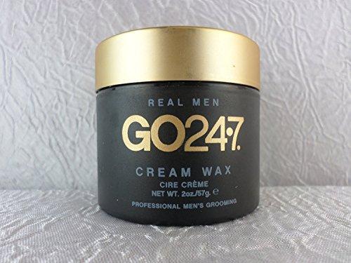GO247 Vrais hommes crème cire, 2 once liquide