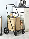 Whitmor Deluxe Utility Cart, Black