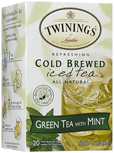 Twinings Green and Mint Cold Brewed Tea - 20 ct