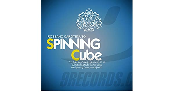 Spinning Cube (re-edit) de Rossano Carotenuto en Amazon Music ...