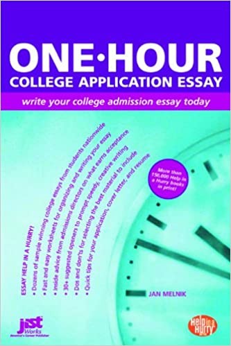 How to write a college admissions essay book