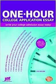 one hour to write an essay
