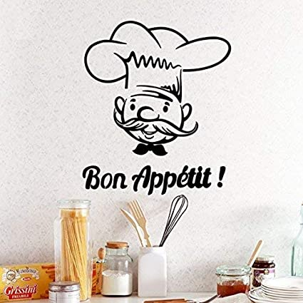 Amazon Evelyndavid Life Quotes Wall Stickers Bon Appetit Old