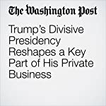 Trump's Divisive Presidency Reshapes a Key Part of His Private Business | David A. Fahrenthold,Amy Brittain,Matea Gold