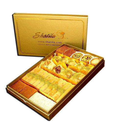 Half Elegant Gold Box