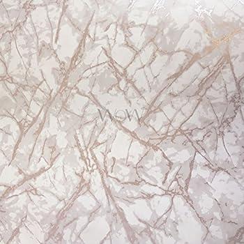 Metallic Marble Wallpaper Rose Gold Fine Decor Fd42268