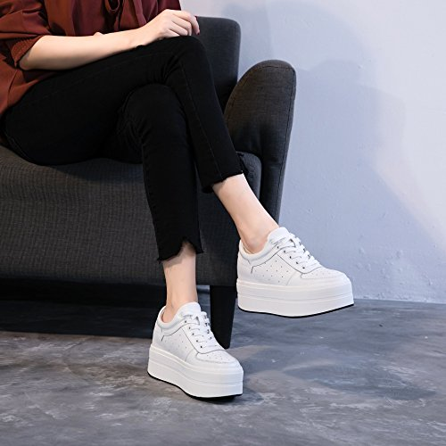 In Shoes All Tide Shoes KPHY Korean Increase Increase Women'S The Shoes Female nine New In The Platform Thick Match Thirty aIq66w0Ex