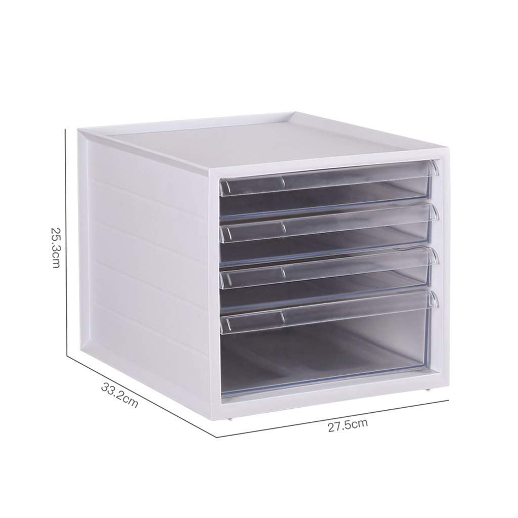 File Cabinet, Desktop Extended Drawer Office Organizer (PP) 27.533.225.3CM (Color : B)