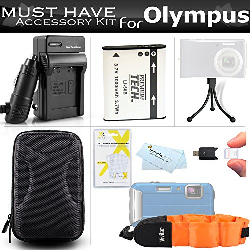 Accessories Bundle Kit For Olympus Stylus Tough TG-610 TG...