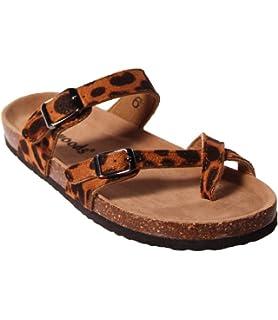 4226d2b48 OUTWOODS Women s Bork 30 Sandal Cheetah Combo