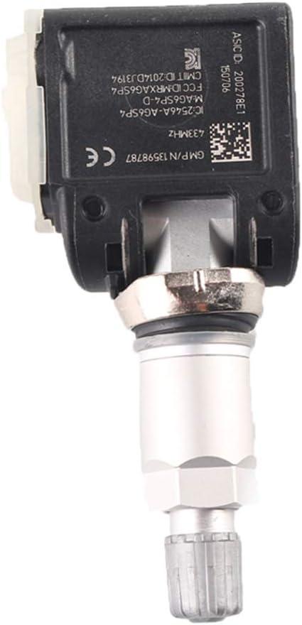 Bodbii Kompatibel mit Chevy Camaro 2016-2018 LS LT Rad TPMS Reifen Reifendrucksensor 13598787 135989775