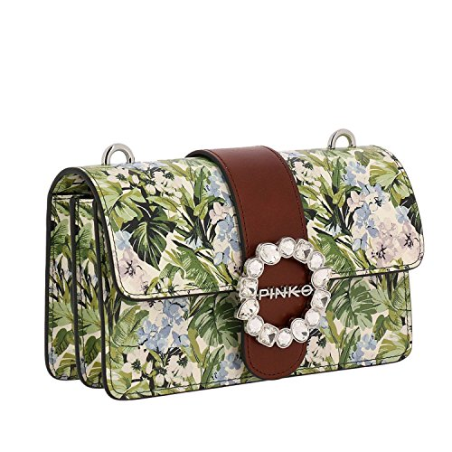 Comprar Barato Más Reciente PINKO. BAG Mini Love Print Flowers 1P212LY4HQAS0 Nuova Stagione Primavera Estate 2018 1P212L Y4HQ AS0 Tienda De Venta Venta Fiable PovkzAat4c