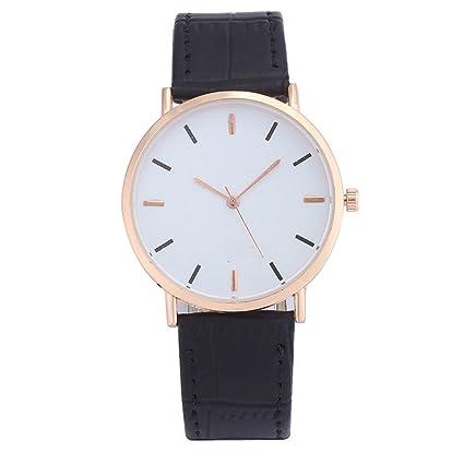 LJXAN Relojes para Mujer Relojes de Moda Relojes para Hombres Delgados y Relojes para Mujeres 2018