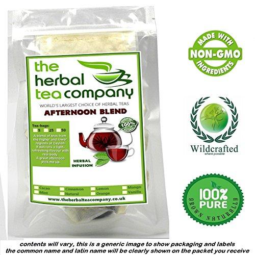 Bee Pollen Tea Bags Afternoon Tea Blend Natural 50 Pack