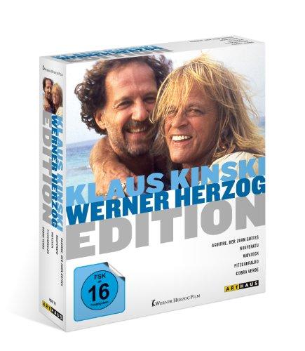 Herzog & Kinski Collection - 5-Disc Box Set ( Aguirre, der Zorn Gottes / Cobra Verde / Fitzcarraldo / Nosferatu: Phantom der Nacht / Woyzeck ) ( Agu [ NON-USA FORMAT, Blu-Ray, Reg.B Import - Germany ]