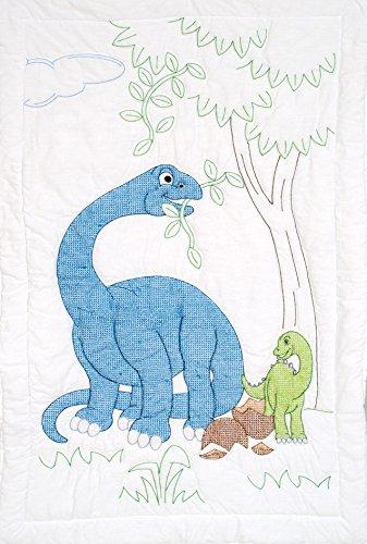 Dinosaurs Crib Quilt Top