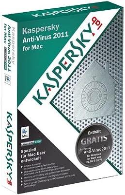 Kaspersky Lab Anti-Virus f/ Mac 2011, 1u, DEU - Seguridad y antivirus (1u, DEU, DEU, Mac, Mac OS X 10.5/10.6): Amazon.es: Software