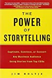 img - for The Power of Storytelling: Captivate, Convince, or Convert Any Business Audience UsingStories from Top CEOs 1st edition by Holtje, Jim (2011) Paperback book / textbook / text book