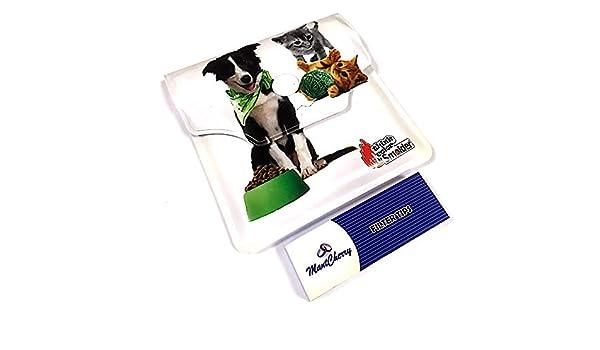 Escritura Brand bolsillo/Monedero cenicero en diseño de gato - 1 ...