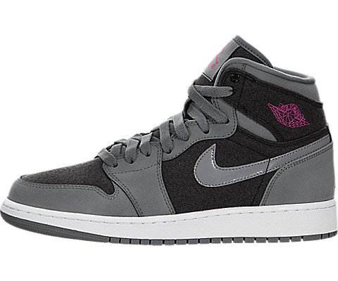 Nike Jordan Kids Air Jordan 1 Retro High - Women Basketball Shoes 7