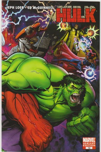 (Hulk issue #12 1:10 Arthur Adams Variant Cover Comic Book)