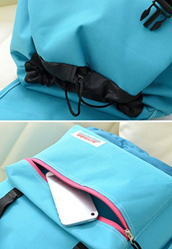 PPL - Bolso mochila  para mujer Azul azul large