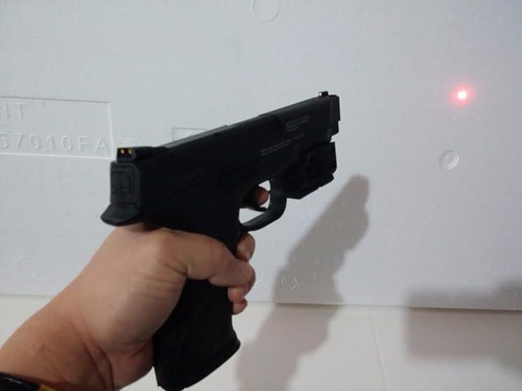S&W M&P 45 .177 Caliber BB/Pellet Airgun Pistol Good accurate gun