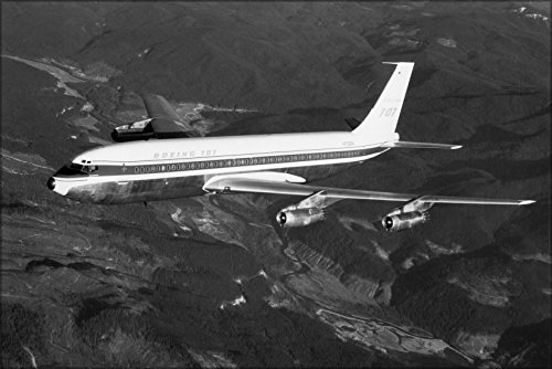 24x36 Poster; Boeing 707 Stratoliner, 3Rd 707-121 Production Airplane 1958