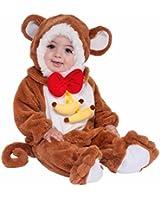 Forum Novelties Baby Boy's Plush Cuddlee Monkey Costume