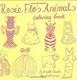 Rosie Flo's Animals Coloring Book