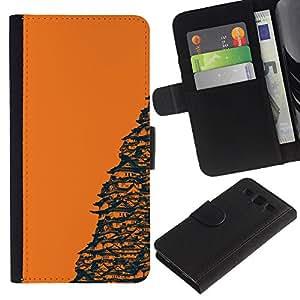 """A-type (Templo Naranja japonesa"""") Colorida Impresión Funda Cuero Monedero Caja Bolsa Cubierta Caja Piel Card Slots Para Samsung Galaxy S3 III i9300 i747"""