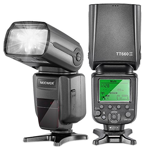 Neewer Professional Speedlight Flashlight Photograph