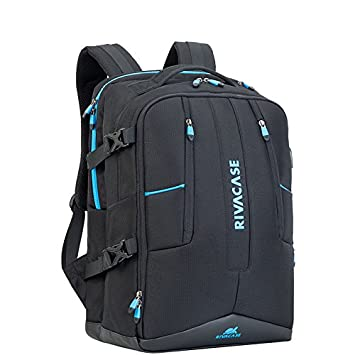 RivaCase 17.3in Laptop Gaming Backpack Borneo 7860 Black  Amazon.ca   Electronics 928cd6716f