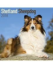 Shetland Sheepdog Calendar - Sheltie Calendar - Dog Breed Calendars 2018 - Dog Calendar - Calendars 2017 - 2018 wall calendars - 16 Month Wall Calendar by Avonside