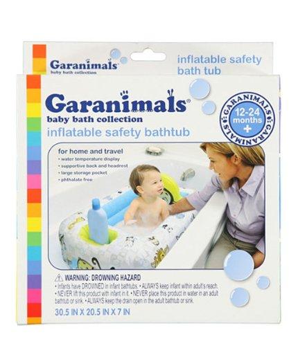 Amazon.com : Garanimals - Inflatable Safety Baby Bathtub by Disney ...