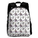 Hip Hop Dabbing Unicorn Kid Boys Girls Toddler Pre School Backpack Bags Lightweight