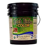 BLACK DIAMOND COATINGS PRO LANDSCAPE SERIES Mulch Binder (5 Gallon, Red)