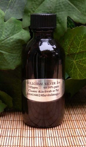 The Vital Image Colloidal Silver 2 oz by The Vital Image