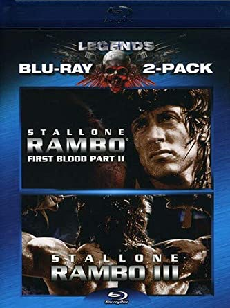 Rambo: First Blood Ii & Rambo: First Blood Iii 2 Blu-Ray Edizione: Stati Uniti USA Blu-ray: Amazon.es: Sylvester Stallone, Richard Crenna, Charles Napier, Julia Nickson, Steven Berkoff, Martin Kove, George Kee Cheung,
