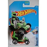 Hot Wheels 2017 HW Ride-Ons Grass Chomper (Ride-On Lawnmower) 45/365, Green