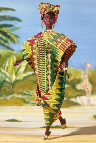 Ghanian Barbie Collector's Edition Dolls of the World