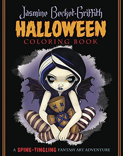 Jasmine Becket-Griffith Halloween Coloring Book: A Spine-Tingling Fantasy Art -