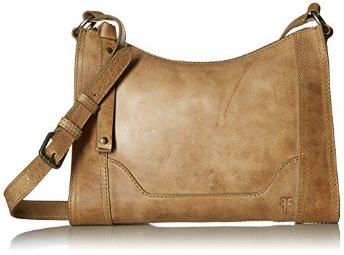 FRYE Melissa Zip Leather Crossbody Bag, Sand by FRYE