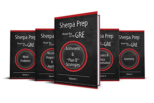 Master Key to the GRE: Set of 5 Math Strategy Guides (Guide Sherpa)