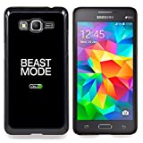 Beast Mode Exercise Rogan Black Text Designed Hard Plastic Protective Case King Case For Samsung Galaxy Grand Prime G530H G5308
