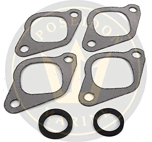 Volvo Exhaust Gasket - Exhaust manifold gasket for Volvo Penta AQ120 AQ131 AQ145 AQ151 230 RO: 855967