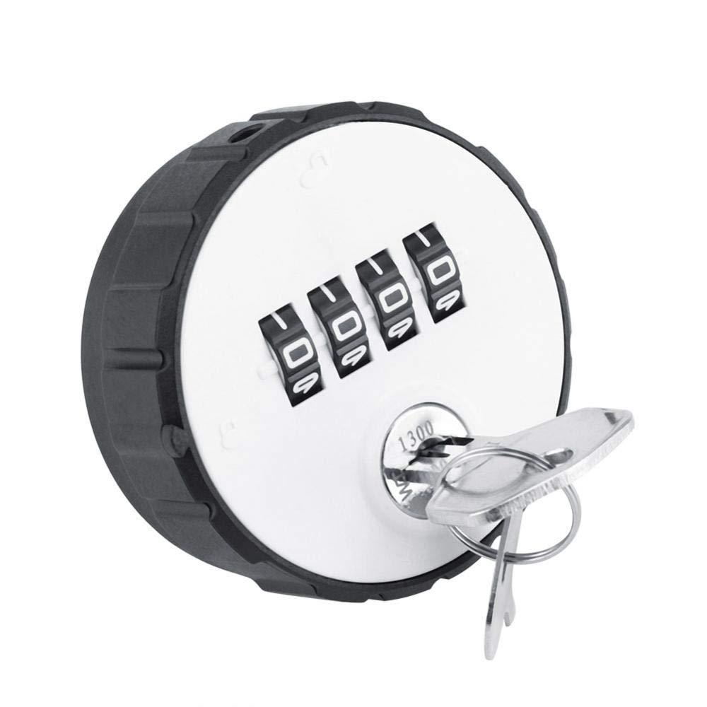Fdit デジタル 亜鉛合金 コード コンビネーション カムキャビネット 便利なパスワードセーフロック セキュリティと安全のためのキー付き 20mm Fditug67kxc3td-01 B07GFDSSJL  20mm