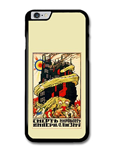 Russian Retro Propaganda Dragon World War Cool coque pour iPhone 6 Plus 6S Plus