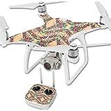 MightySkins Protective Vinyl Skin Decal for DJI Phantom 4 Quadcopter Drone wrap cover sticker skins Grasshopper